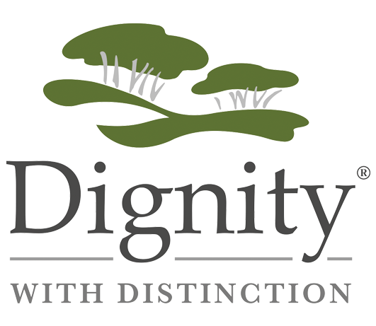 Dignity Logo - Funeral Plans from MGF Wills