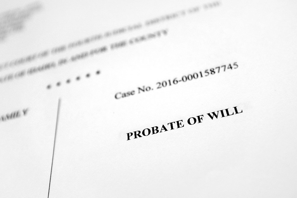 Probate problems - MGF Wills